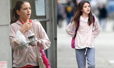 Không còn là 'công chúa băng lãnh' của Hollywood, Suri Cruise nay phải mặc đi mặc lại những món đồ cũ kỹ