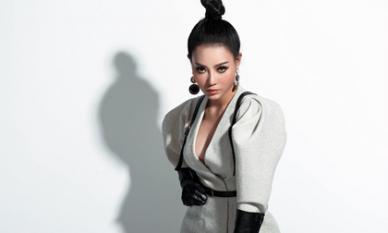Thanh Hương 'lạ mắt' khi chuyển đổi phong cách sang cô nàng cá tính, nổi loạn