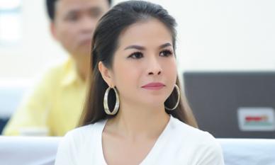 Hoa hậu Lê Thanh Thúy bất ngờ diện kiến Phó chủ tịch nước tại giải thể thao dành cho trẻ em toàn quốc
