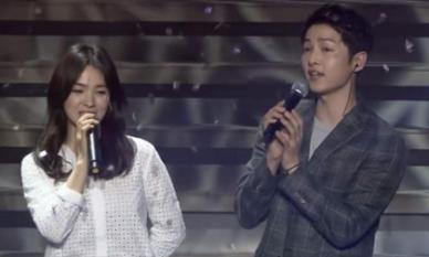 Màn song ca ngọt ngào gây tiếc nuối của Song Joong Ki và Song Hye Kyo