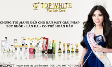 Thương hiệu mỹ phẩm cao cấp Top White tuyển đại lý trong và ngoài nước