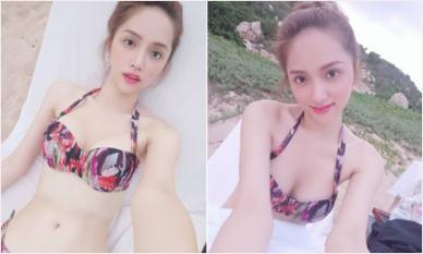 Hoa hậu Chuyển giới Hương Giang đăng ảnh hiếm khi diện bikini khoe 3 vòng bốc lửa