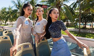 Ai nói Hoa hậu phải 'bánh bèo', thí sinh Miss World Việt Nam 'cực chất' trong bộ ảnh trên xe bus