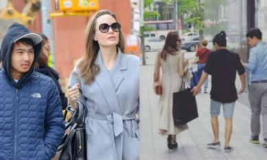 Angelina Jolie đích thân đưa Maddox tới Hàn nhập học, lo lắng khi con lần đầu xa nhà