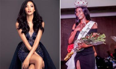'Giành suất' Vedette Miss Universe của Hoàng Thùy, Tân Hoa hậu Zambia sở hữu nhan sắc gây tranh cãi