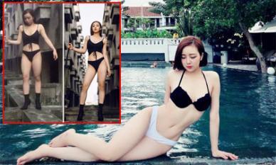 Hình ảnh chưa qua photoshop của 'hot girl ngủ gật' khiến dân tình ngã ngửa