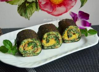 Rong biển cuộn rau và phô mai: Món ăn tăng chiều cao, hấp dẫn trẻ nhỏ
