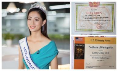 Sở hữu bảng thành tích khủng, tân Hoa hậu Lương Thùy Linh xứng danh 'con nhà người ta'