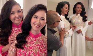 Hai 'mẹ chồng quốc dân' NSND Lan Hương và Ngân Quỳnh khoe vẻ đẹp mặn mà khi chung khung hình