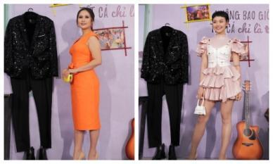 Thanh Thuý thon gọn với đầm cam choé, Miu Lê bánh bèo hết cỡ với style công chúa