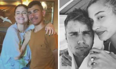 Selena Gomez ôm ấp trai lạ khi trên mạng rộ tin tức tình cũ Justin Bieber sắp làm đám cưới
