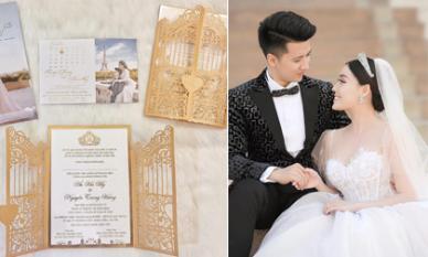Tình cũ Hà Duy hé lộ thiệp cưới và ngày chính thức lên xe hoa với bạn trai hot boy trường Sân khấu điện ảnh