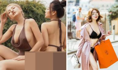 Cho rằng mặc đồ lót đi shopping ngoài đường là dung tục, Ngân 98 bị 'ném đá': 'tuổi gì mà đem so với Ngọc Trinh'