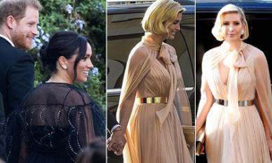 Diện váy hiệu hơn 250 triệu đồng, Meghan Markle vẫn lép vế và 'đuối' hơn hẳn khi đứng cạnh con gái Tổng thống Trump