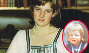 Công nương Diana xinh đẹp từ thời thơ ấu