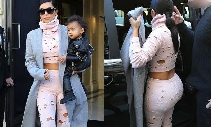 'Ngớ người' với thời trang thủng lỗ chỗ của Kim