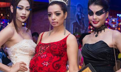 Dàn sao Hà Nội đồng loạt 'hóa ma quỷ' trong đêm tiệc Halloween