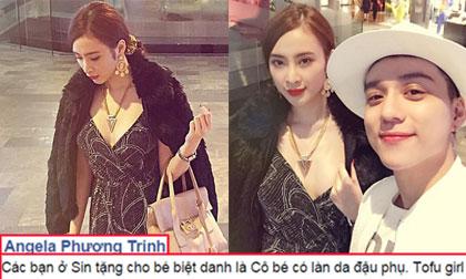 Angela Phương Trinh được fans Singapore gọi là 'Cô bé có làn da đậu phụ'
