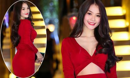 Linh Chi diện váy cut-out gợi cảm khoe 3 vòng hoàn hảo