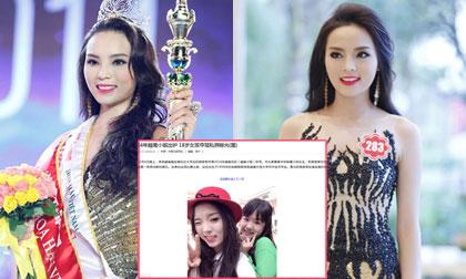 Hoa hậu Kỳ Duyên được báo Trung hết lời khen ngợi