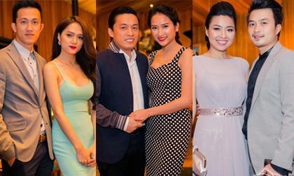 Những cặp đôi 'hot nhất' showbiz Việt tấp nập đi dự tiệc Giáng sinh