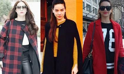 'Học lỏm' cách mix áo khoác mùa đông sành điệu như Hà Hồ