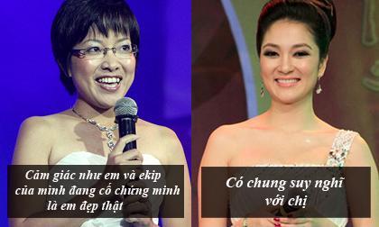 HH Nguyễn Thị Huyền ủng hộ lời 'răn đe' của MC Thảo Vân với Kỳ Duyên