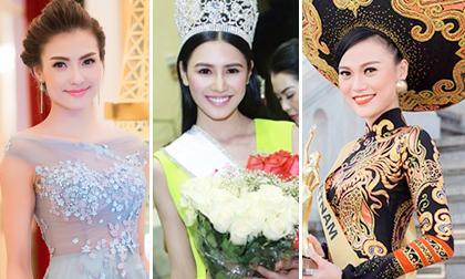 """Năm 2014: Người đẹp Việt 'đua nhau' đi thi Hoa hậu """"chui"""""""
