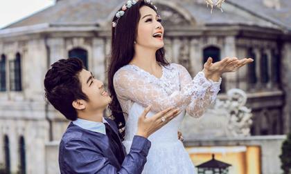 Lộ ảnh cưới lãng mạn của Nhật Kim Anh