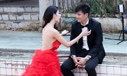 Rò rỉ hậu trường chụp ảnh cưới của Thủy Tiên - Công Vinh