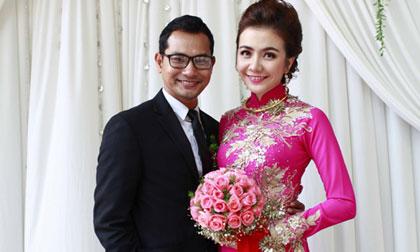 Á hậu Ái Châu rạng rỡ bên Huỳnh Đông trong đám cưới ở miền Tây