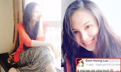 Diễm Hương bất ngờ về Việt Nam sau sinh dù chưa đầy tháng