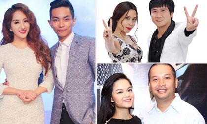 Những mối tình 'thầy trò' nổi tiếng của showbiz Việt