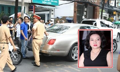 Xế sang hơn 20 tỷ của mẹ chồng Hồ Ngọc Hà gặp tai nạn