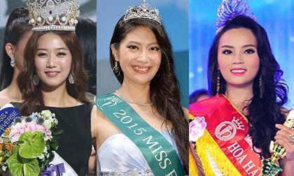Hoa hậu các nước châu Á vừa vừa đăng quang đã bị chê tơi tả