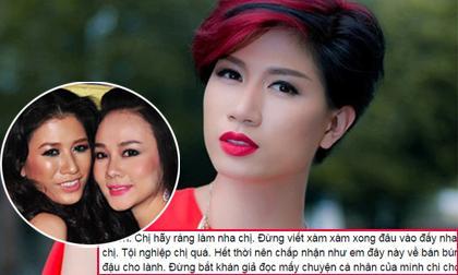 Trang Trần nhắn Dương Yến Ngọc: 'Chị đừng nói xong bỏ đó'