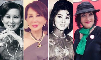 Mỹ nhân lừng lẫy Sài Gòn một thời: Ngày ấy và bây giờ