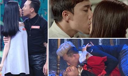 Trước Hari Won, Trấn Thành từng hôn bao nhiêu mỹ nhân Việt?
