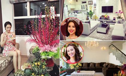 Ngắm không gian đón Tết 'ngập tràn sắc xuân' của sao Việt