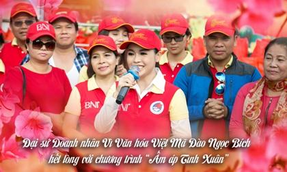 Đại sứ doanh nhân vì văn hóa Việt - Mã Đào Ngọc Bích hết lòng vì 'cái đẹp'