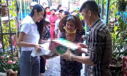 Thủy Tiên bị chửi là 'con quỷ cái' khi đi làm từ thiện cùng chồng