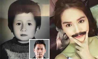 Tin sao Việt mới ngày 25/7: Hình ảnh đáng yêu lúc nhỏ của Bằng Kiều, Ngọc Trinh đeo râu giả trai