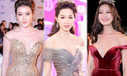 Dàn sao Việt chưng diện lộng lẫy trên thảm đỏ chung kết Hoa hậu Việt Nam 2016