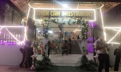 Á hậu tài sắc Nguyễn Vân Anh khai trương nhà hàng Thiên Cầm chi nhánh 3
