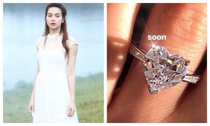 Hồ Ngọc Hà khoe nhẫn kim cương 'khủng', rộ nghi án sắp kết hôn với Kim Lý?