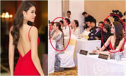 Phạm Hương lưng trần ngọc ngà, 'lơ đẹp' Hoa hậu Thu Hoài tại sự kiện
