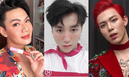 Những sao nam Việt chuộng mốt trang điểm lồng lộn không kém mỹ nhân
