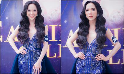 Hot girl chuyển giới Trần Đoàn rạng rỡ dự casting The Tiffany Vietnam 2018