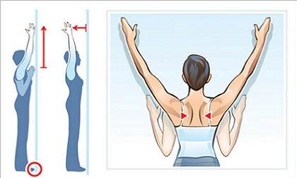 Vươn vai – hành động đơn giản giúp vòng một nảy nở, giảm hẳn các bệnh về tiêu hóa, cột sống