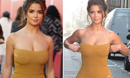 Chỉ cao 1m57 nhưng 'Bông hồng Anh' Demi Rose khoe body nóng bỏng ăn đứt cả Kim Kardashian lẫn Kylie
